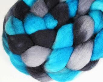 PANTHERS - Superwash BFL wool roving,  4.25 oz