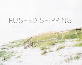 Rushed Shipping