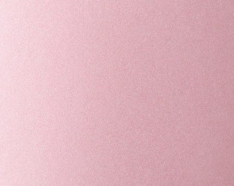 Pale Pink Metallic Cardstock, Cardstock Paper, 5 x 7 Cardstock, Metallic Paper, Pink Paper, Pink Cardstock, Card Stock, Card Stationary