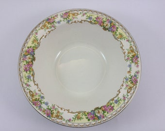 Vintage Edwin M Knowles Vegetable Dish Bowl Made in USA