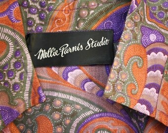 MOLLEY PARNIS STUDIO Paisley Dress