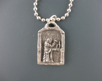 St. Joseph, Patron of Fathers, Handmade Necklace