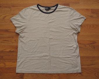 mens Polo striped t shirt