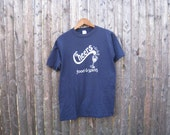 Vintage Cheers Food & Spirits Tshirt Mens Medium