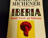 IBERIA by James Michener 1968 Fawcett Crest book