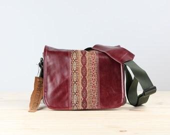 Boho Chains Leather Camera Bag Satchel- PRE-ORDER