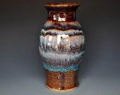 Pottery Flower Vase Handmade Ceramic Stoneware Vase A