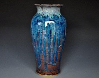 Pottery Vase Stoneware Flower Vase Handmade Ceramic Vase Pottery C