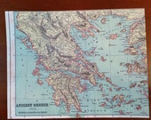 Custom Greece Map Journal only for Customer Jen