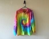 Womens XL tie dyed hoodie