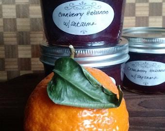 Cranberry Habanero Jam