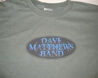 Vintage 90's Dave Matthews Band concert tour T shirt Adult Size XL