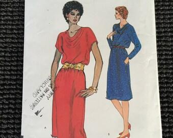 Vogue 8225 Misses Pullover Dress Sewing Pattern Size 6-10 UNCUT