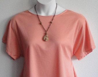 S-3X Post Surgery Shirt - Shoulder,  Breast Cancer, Mastectomy / Adaptive Clothing / Hospice / Rehab / Breastfeeding - Style Tracie Wickaway