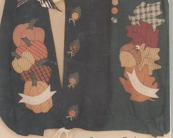 "Caught Up In Stitches ""Indian Summer"" Applique Pattern for Sweatshirts and More"