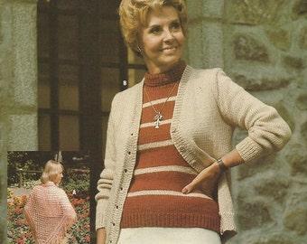 "Vintage Phentex ""Elite"" Knitting and Crochet Leaflet  CLEARANCE ITEM"