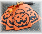 Jack O Lantern - Pumpkin - Halloween Tags (6)
