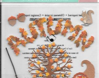 Jolee's Boutique  -- Autumn --  NEW --  dimensional stickers  (#1764)