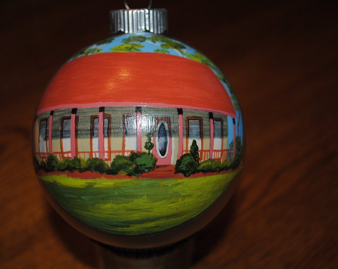 New Custom Hand Painted Home Portrait -sold