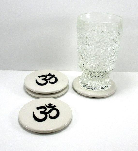 Ceramic Coasters Set Coasters Set Drink Coasters By Nazsshop