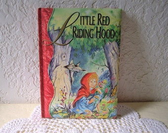Little Red Riding Hood, Tormont Publication. Padded Storytime Classic Book Collection. 1995