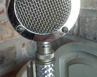 Microphone - antique vintage microphone