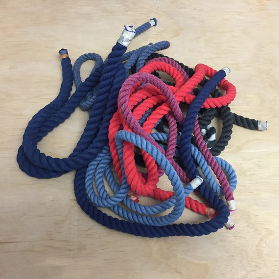 Hand-dyed assorted ropes for DIY projects / craft supplies