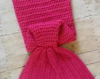 Mermaid Tail, Mermaid Cocoon,  Sleeping Bag, Mermaid Blanket, Mermaid Tail Blanket, Crochet Mermaid Tail, little mermaid