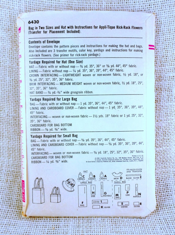 rick rack flowers instructions