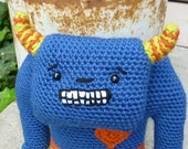 Moby the Monster Crocheted Toy