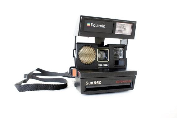 Polaroid Camera Sun 660 Autofocus - Film Tested Working