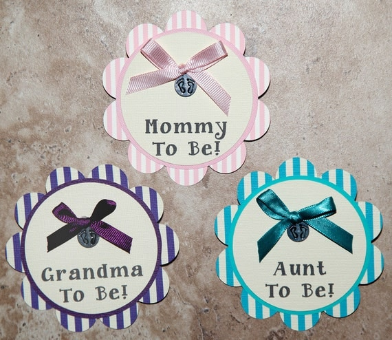 mommy to be pin newborn baby girl baby shower or birthday party