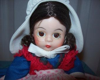 Vintage 1970 Madame Alexander Belgium Doll with original Box
