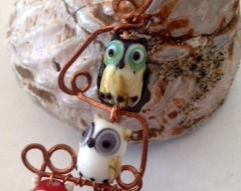 Owl Totem, Owl Jewelry, Owls,  Custom Made