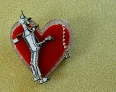 Wizard of Oz Tin Man Heart Cameo