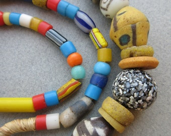 Old African Glass Beads