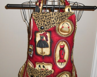 Red Passion for Fashion Apron