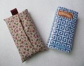 Tissue Case/Small Pink Flower