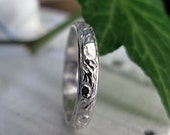 Vintage Wedding Band Sterling Silver Wedding Band Hot Rox Unique Wedding Band Wedding Ring Carved Wedding Band Renaissance Wedding Rings