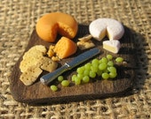 Miniature Cheese Board 12th Scale