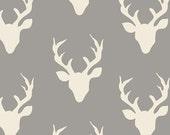 SALE! Bonnie Christine, Buck Forest Mist, Deer Fabric, By the Yard, Hello Bear, Art Gallery Fabrics, One Yard
