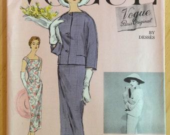 Vogue Paris Original Jean Desses 1371