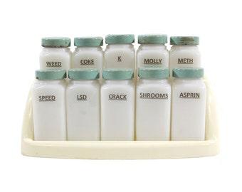 Recreational Drug Altered Spice Rack - Humorous - Stash Box