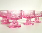 Fostoria Sorrento Pink/Rose Sherbert Glass