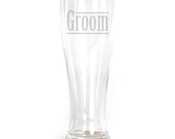 Pilsner Glass - 19oz - 9550 Groom