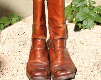 Mens Campus Style Boots Durango West Size 10 1/2 D
