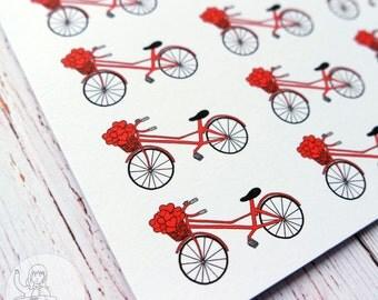 Handmade Personalised Birthday Card Her Women's Road Bike Cycling Hobby Friend