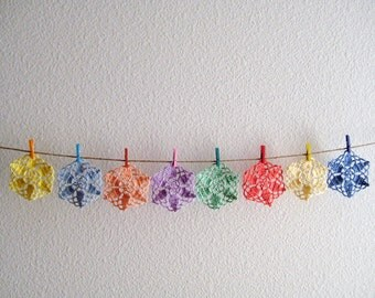 Crochet Coasters Set of 8