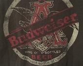 Vintage Budweiser Tee in Black