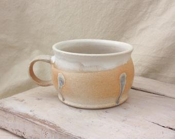 Hand Made Ceramic Wood Soda fired Mug 1